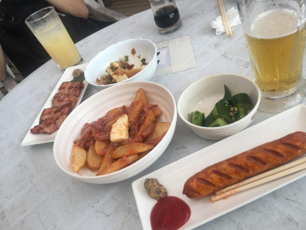 逗子 海の家 食べ物