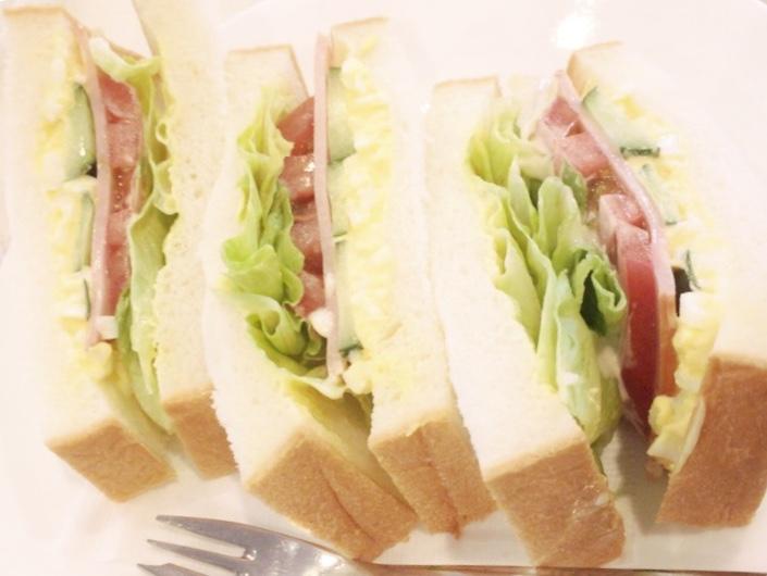 ルノアール サンドイッチ
